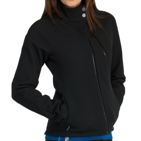 Icebreaker Kenai RF260 Jacket - Merino Wool, UPF 50+, Full Zip (For Women) in Black