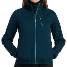 Icebreaker Kenai RF260 Jacket - Merino Wool, UPF 50+, Full Zip (For Women) in Eclipse - Closeouts
