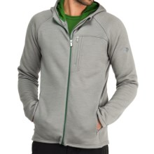 Icebreaker Kodiak Hooded RealFleece 320 Jacket - Merino Wool, Full Zip (For Men) in Fossil - Closeouts
