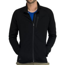 Icebreaker Kodiak Zip Jacket - UPF 50+, Merino Wool (For Men) in Black - Closeouts