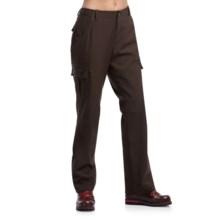 Icebreaker Laurel Pants - UPF 50+, Merino Wool, Slim Fit (For Women) in Chocolate - Closeouts