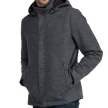 Icebreaker Legacy Jacket - Merino Wool (For Men) in Oxide Heather - Closeouts