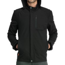 Icebreaker Legion Zip Hooded Jacket - Merino Wool (For Men) in Black - Closeouts