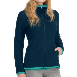 Icebreaker Lily Zip 260 Shirt - UPF 30+, Merino Wool (For Women) in Black