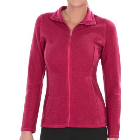 Icebreaker Lily Zip 260 Shirt - UPF 30+, Merino Wool (For Women) in Ruby