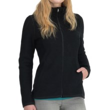 Icebreaker Lily Zip 260 Shirt - UPF 50+, Merino Wool (For Women) in Black - Closeouts