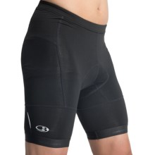 Icebreaker Link Cycling Shorts - Merino Wool Blend (For Men) in Black - Closeouts