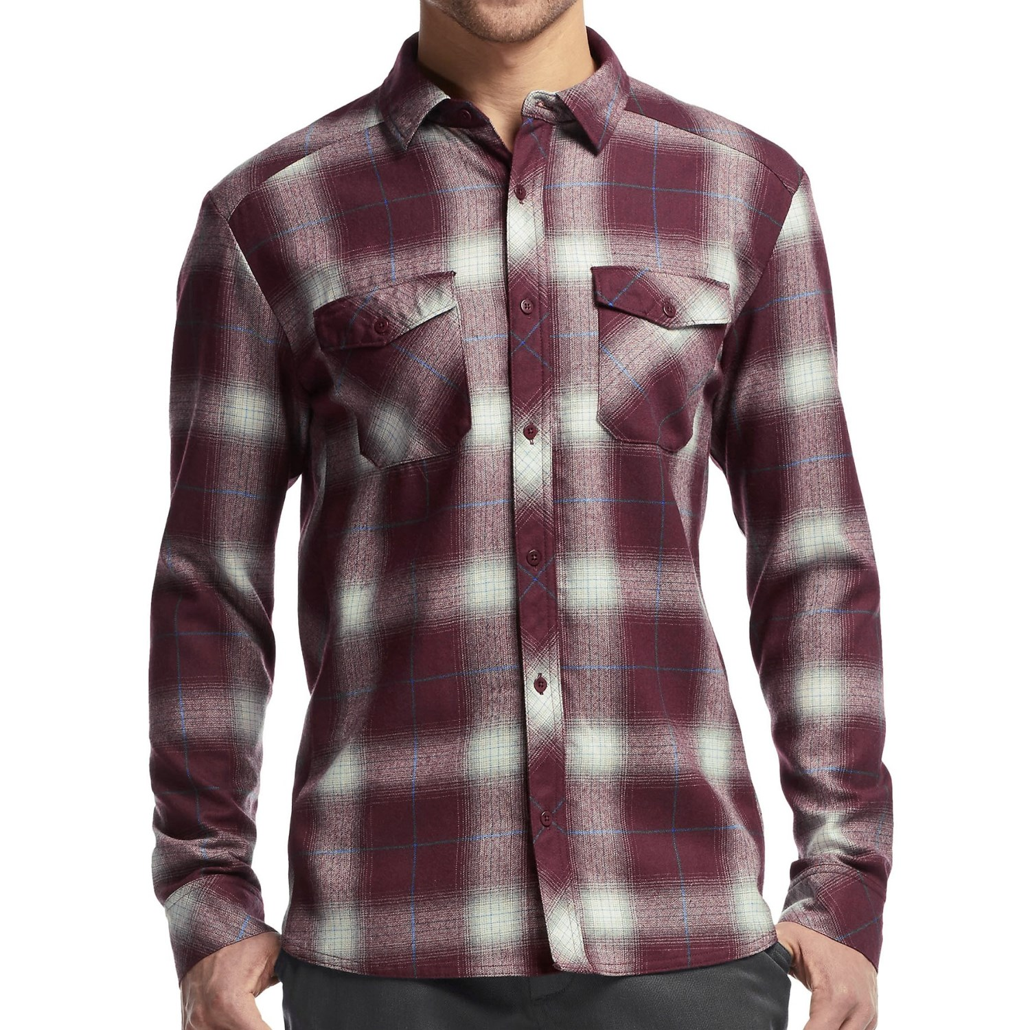 Icebreaker Lodge Flannel Shirt For Men Save 52