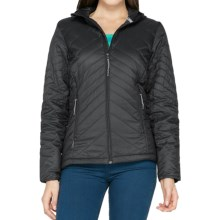 Icebreaker MerinoLOFT Helix Hooded Jacket - Merino Wool, Insulated (For Women) in Black - Closeouts