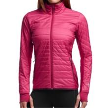 Icebreaker MerinoLOFT Helix Jacket - Merino Wool, Insulated (For Women) in Raspberry/Maroon/Maroon - Closeouts