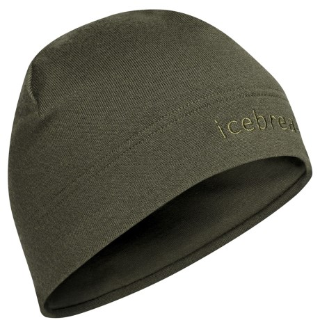Icebreaker Mogul Beanie Hat - Merino Wool (For Men and Women) in Cargo