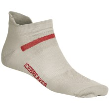 Icebreaker Multisport Superlite Micro Socks - Merino Wool, Lightweight, Below-the-Ankle (For Men) in Silver - Closeouts