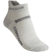 Icebreaker Multisport Ultralite Socks - Merino Wool (For Women) in Silver/Oil/Silver - 2nds