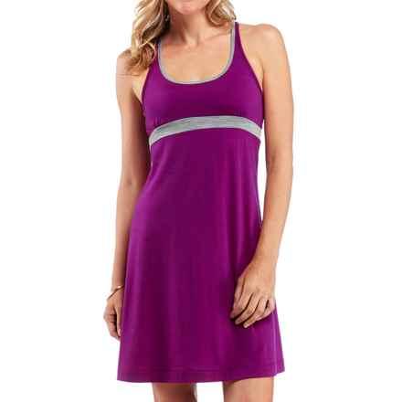Icebreaker Muse Dress - Merino Wool, Built-In Bra, UPF 30+, Sleeveless (For Women) in Vivid - Closeouts