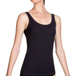Icebreaker Nature 150 Siren Tank Top - Merino Wool, Lightweight (For Women) in Black Solid