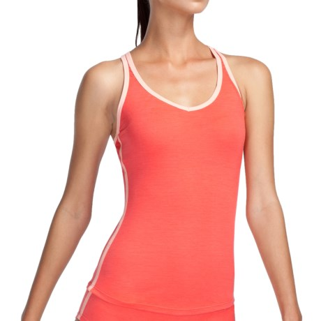 Icebreaker Nature 150 Sprite Tank Top - Merino Wool, Racerback (For Women) in Azalea
