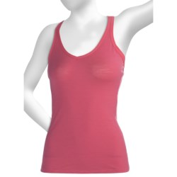 Icebreaker Nature 150 Sprite Tank Top - Merino Wool, Racerback (For Women) in Metro Heather/Vivid
