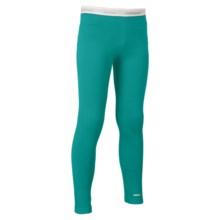 Icebreaker Oasis Base Layer Leggings - UPF 30+, Merino Wool, Lightweight (For Kids) in Mermaid - Closeouts