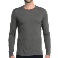 Icebreaker Oasis Shirt - UPF 30+, Merino Wool, Long Sleeve (For Men) in Cave