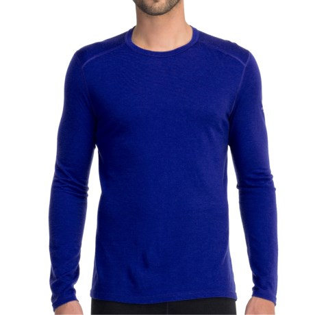 Icebreaker Oasis Shirt - UPF 30+, Merino Wool, Long Sleeve (For Men) in Concord