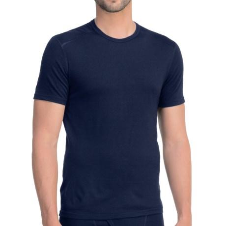 Icebreaker Oasis T-Shirt - UPF 30+, Merino Wool, Lightweight, Short Sleeve (For Men) in Admiral