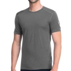Icebreaker Oasis T-Shirt - UPF 30+, Merino Wool, Lightweight, Short Sleeve (For Men) in Cave