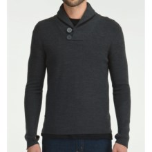Icebreaker Orion Sweater - Merino Wool (For Men) in Jet - Closeouts