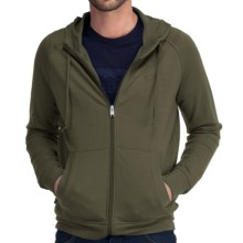 Icebreaker Quattro Full-Zip Hoodie Sweatshirt - Merino Wool (For Men) in Cargo - Closeouts