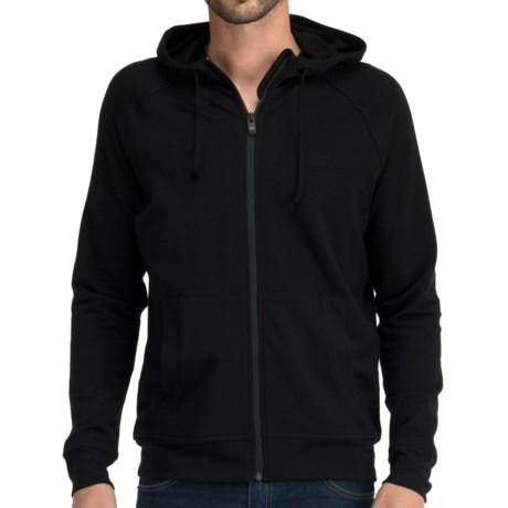 Icebreaker Quattro Hoodie Merino Wool, Full Zip (For Men)