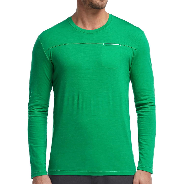 Icebreaker quattro shirt for men save 71 for Merino wool shirt long sleeve