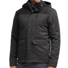 Icebreaker Ranger MerinoLOFT Hooded Jacket - Merino Wool, Insulated (For Men) in Jet Heather/Black - Closeouts