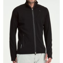 Icebreaker Rapid Shirt - Merino Wool, Full Zip, Long Sleeve (For Men) in Black - Closeouts