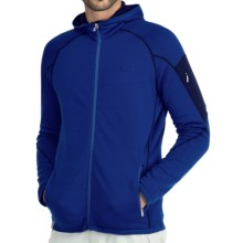 Icebreaker Real Fleece Sierra Hooded Jacket - Merino Wool (For Men) in Cobalt/Admiral - Closeouts