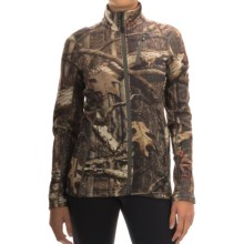 Icebreaker RealFLEECE 200 Cascade Sweatshirt - Merino Wool, Full Zip (For Women) in Mossy Oak Break-Up Infinity/Olive - Closeouts
