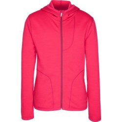 Icebreaker RealFleece 260 Camper Hoodie Jacket - UPF 50+, Merino Wool (For Kids) in Cherub