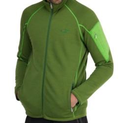 Icebreaker RealFleece 260 Sierra Jacket- Merino Wool, Full Zip (For Men) in Grass/Turf