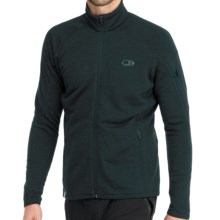 Icebreaker RealFleece 260 Sierra Jacket- Merino Wool, Full Zip (For Men) in Nova - Closeouts