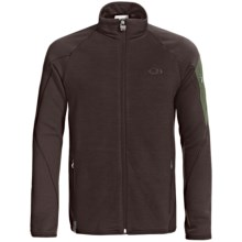 Icebreaker RealFleece 260 Sierra Jacket- Merino Wool, Full Zip (For Men) in Oak/Spruce - Closeouts