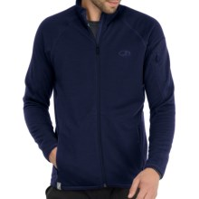 Icebreaker RealFleece 260 Sierra Jacket- Merino Wool, Full Zip (For Men) in Planet - Closeouts