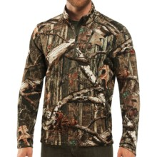 Icebreaker RealFleece Sierra Camo Top - Merino Wool, Zip Neck, UPF 20+, Long Sleeve (For Men) in Mossy Oak Camo - Closeouts