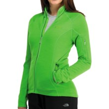 Icebreaker RF260 Cascade Jacket - Merino Wool, Full Zip, Long Sleeve (For Women) in Turf - Closeouts