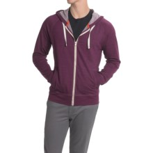 Icebreaker Rover Hoodie - Full Zip, Merino Wool (For Men) in Maroon - Closeouts
