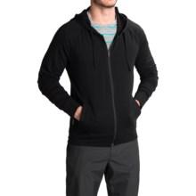 Icebreaker Rover Zip Hoodie - UPF 20+, Merino Wool (For Men) in Black - Closeouts