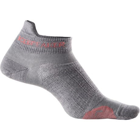 Icebreaker Run Ultralite Micro Socks - Merino Wool, Below-the-Ankle (For Women) in Twister/Azalea/Twister
