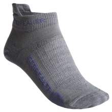 Icebreaker Run Ultralite Micro Socks - Merino Wool, Below-the-Ankle (For Women) in Twister/Wisteria/Twister - 2nds