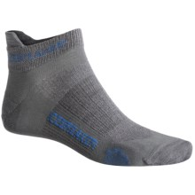 Icebreaker Run Ultralite Micro Socks - Merino Wool (For Men) in Twister/Force/Twister - 2nds