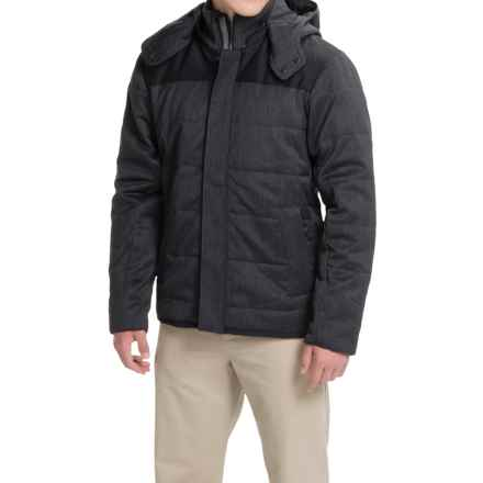 Icebreaker Scout MerinoLOFT Jacket - Merino Wool, Insulated (For Men) in Jet Heather/Black - Closeouts