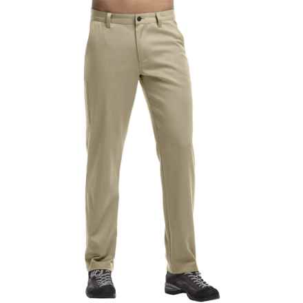 Icebreaker Seeker Pants - Merino Wool, UPF 50+ (For Men) in Straw - Closeouts