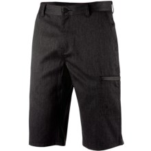 Icebreaker Seeker Shorts - Merino Wool, UPF 30+ (For Men) in Jet Heather/Black - Closeouts