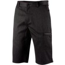 Icebreaker Seeker Shorts - Merino Wool, UPF 30+ (For Men) in Jet Heather/Black - Closeouts